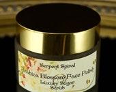 Arabica Blossom FACE POLISH Luxury Skincare Organic Coffee Sugar Facial Scrub