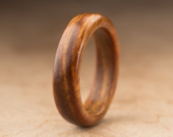 Size 8 - Guayacan Wood Ring No. 389