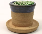 Ceramic Match Striker Fireplace accessories candle lighter SKY BLUE  In Stock Ready to Ship