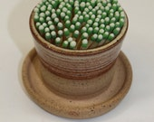 Ceramic Match Striker Fireplace accessories candle lighter Nutmeg In Stock Ready to Ship