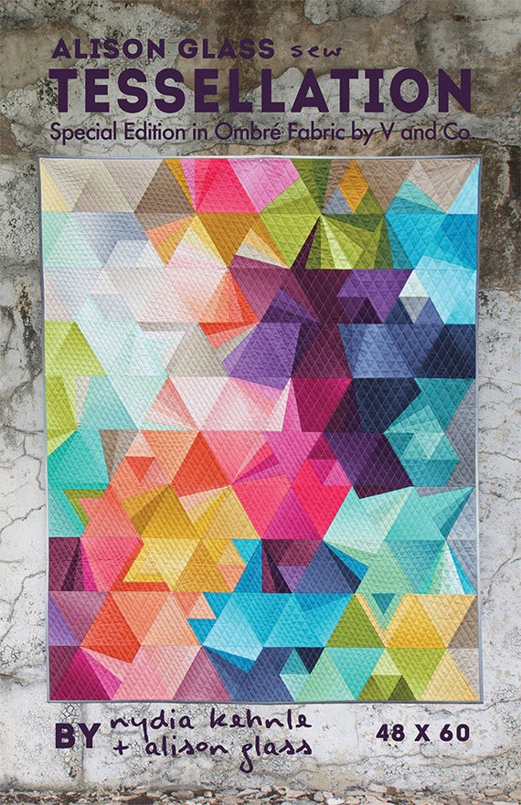 Tessellation Quilt Pattern From Alison Glass