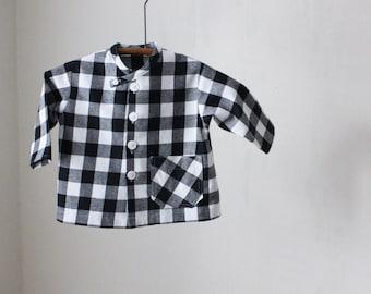 Toddler Boy's Buffalo Check Shirt