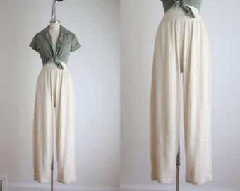 angora wide leg pants