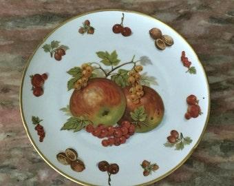 Vintage Plate Fruit And Nut Germany HMS Royal Hanover Fall Harvest