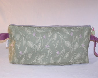 SPECIAL PRICE - Field Mice in Sage Anna Clutch
