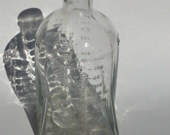 Vintage Cutter Laboratories Berkeley California 1000 CC Glass Bottle