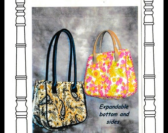 Expandable Tote Bag Etsy