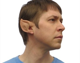 Elf Ears: Alien/Space Ears-- handmade, latex ear tips, great for cosplay, costumes, Halloween, Christmas