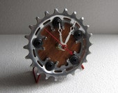 Recycled Shimano Bike Chainring Desk Clock