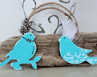 Love Birds Driftwood Decor , Beach Wedding Decoration