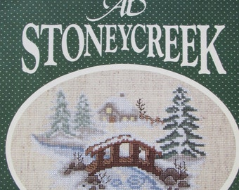 Christmas at Stoneycreek bk 5/Counted Cross Stitch Patterns/1984/Holiday Designs