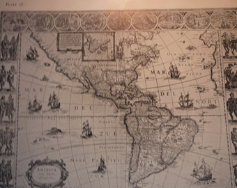 Antique Maps Coloring Book - color me - old maps from 16th century - old and new world maps - color your world - unique gift - treasurers