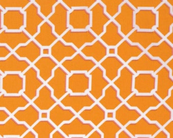 Free Spirit Dena Designs  PWDF205 HAUTE GIRLS-GEO-Orange 1 Yard Cut