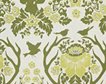1 Yard Home Decor Free Spirit Joel Dewberry - BIRCH FARM- Deer Antler DAMASK-Sage SAJD025