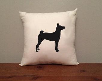 Basenji Pillow