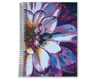 Notebook Planner | 2017-2018 Planner | Aquila Watercolor | 2017-2018 Personalize Calendar Notebook | Personalized Notebook | Custom Notebook