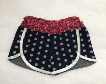 Girls shorts size 2