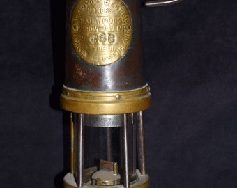 Photo of Antique Miners Safety Lamp