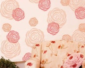 Rose Wall Art Stencil - X-Small - Better than Decals - DIY Home Decor