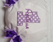 PURPLE and LAVENDER Polka Dot Personalized Name 1st Birthday Diaper Cover Bloomers 1st 2nd 3rd 4th Birthday