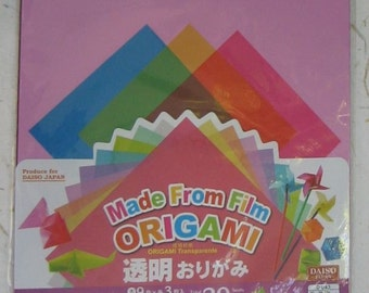 Japanese Origami Transparent Film