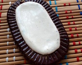 Ceramic Folkloric Pendant
