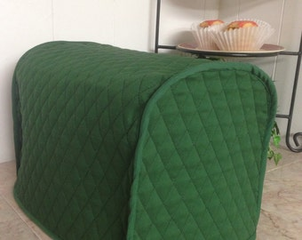 Hunter Green 2 Slice Toaster Covers Long Slot Style Made To Order