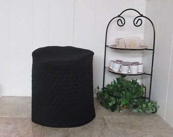 Black Single Cup Coffee Maker Cover