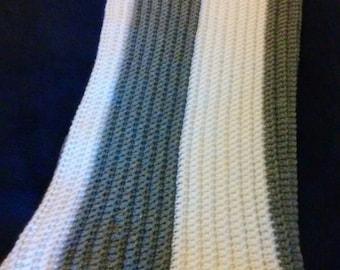 Throw / Lapghan / Afghan / Crochet Blanket / Shower Gift / Crocheted Afghan
