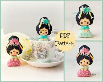 PDF Pattern. Tiny Frida.