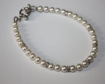 Swavorski Pearl Bracelet