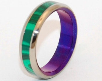 Wedding Rings Titanium Rings Stone Rings By