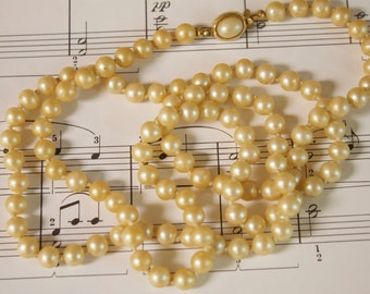 Vintage Pearl Necklace Wedding pearls