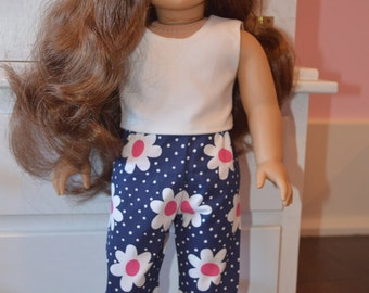 "18"" doll clothes pants and top"