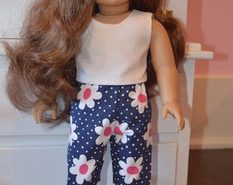 American Girl Doll Pants and sleeveless shirt