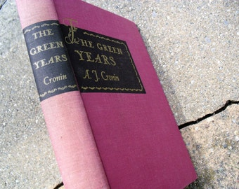 VIntage Book The Green Years by A.J. Cronin