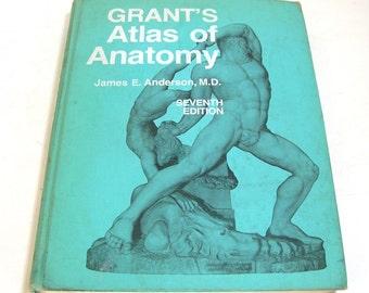 Grant's Atlas Of Anatomy, Illustrated Anatomy Book