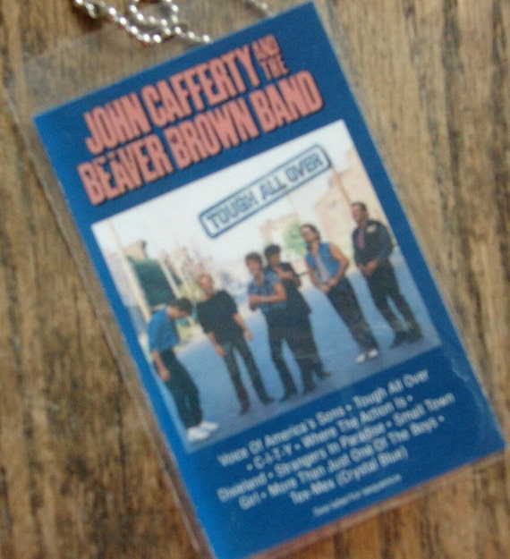 John Cafferty/Beaver Brown Band Cassette Keychain-Tag