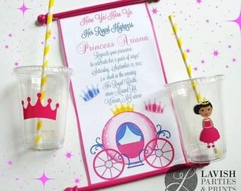 Princess Scroll Invitation