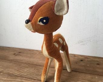 Vintage Dakin Dream Pet Fawn Deer 1960s