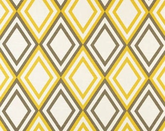 Yellow Napkins Modern Wedding Geometric Table Centerpiece Fabric Yellow Gray Napkins Linens Decoration