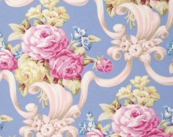 Nostalgia   by Jennifer Paganelli for Free Spirit Fabrics PWJP103-BLU Blue Kumi