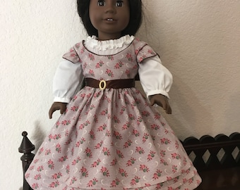 Civil War style Outfit for 18 inch doll