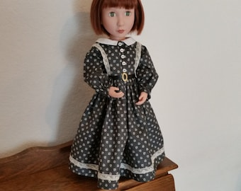 Civil War Style Day Dress for 16 inch doll