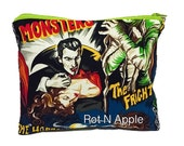 Universal Monsters Zipper Pouch - Cosmetic Purse - Makeup Bag - Fully Lined zipper Pouch - Bag