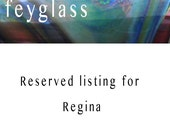 RESERVED listing for Regina
