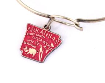 Arkansas Love Charm Bracelet or Necklace