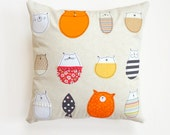 Cat Pillow Cover : Stella And Friends Cushion