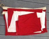 Reserved for emme pair of vintage nautical signal flags