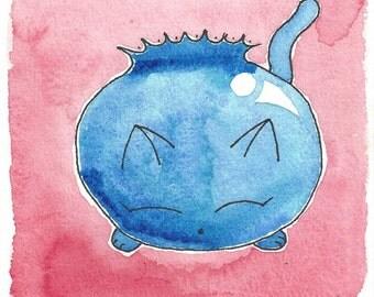 Blueberry Cat
